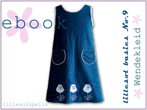 Ebook / Schnittmuster lillesol basic No.9 Wendekleid