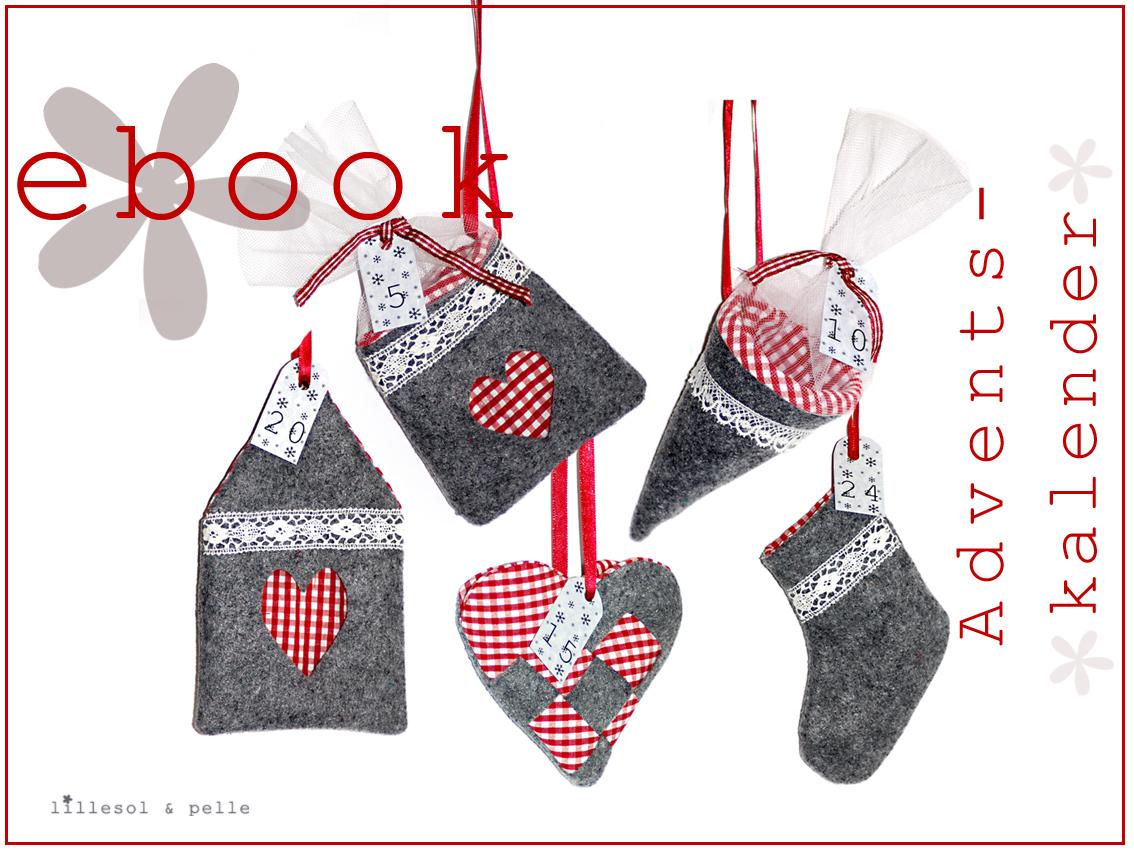 Ebook / Schnittmuster Adventskalender - lillesol & pelle Schnittmuster