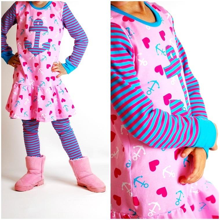 Ebook Schnittmuster Lillesol Basics No 26 Herbstkombi Kleid Amp Shirt Lillesol Amp Pelle