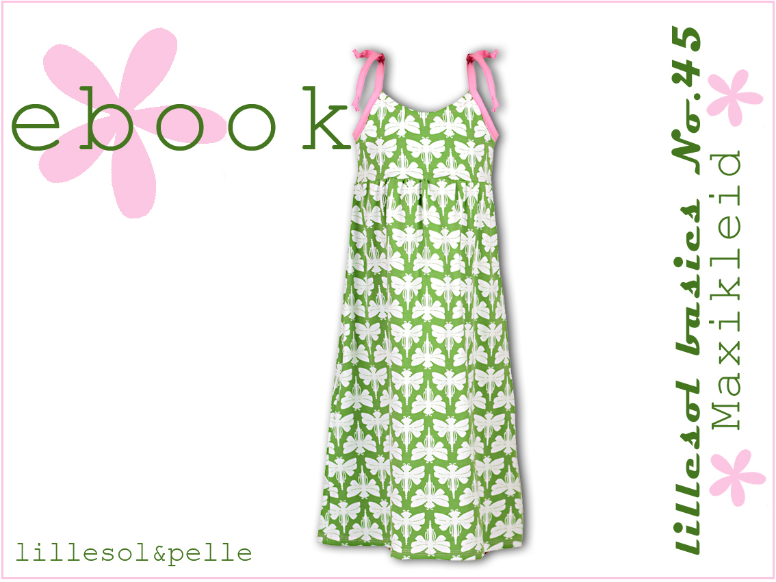 Ebook / Schnittmuster lillesol basics No.45 Maxikleid