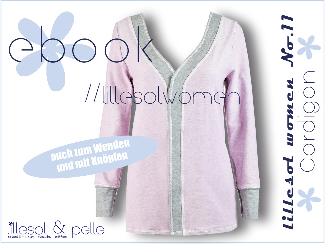 Ebook / Schnittmuster lillesol women No.11 Cardigan