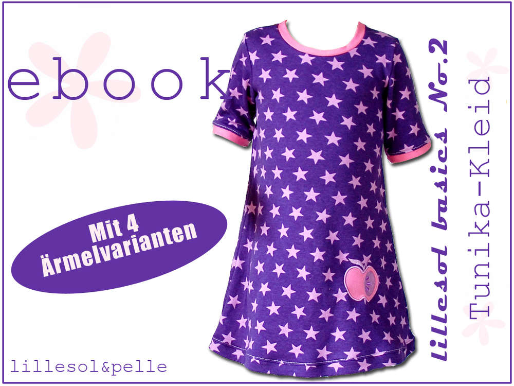 Ebook / Schnittmuster lillesol basic No.2 Tunika-Kleid - lillesol ...