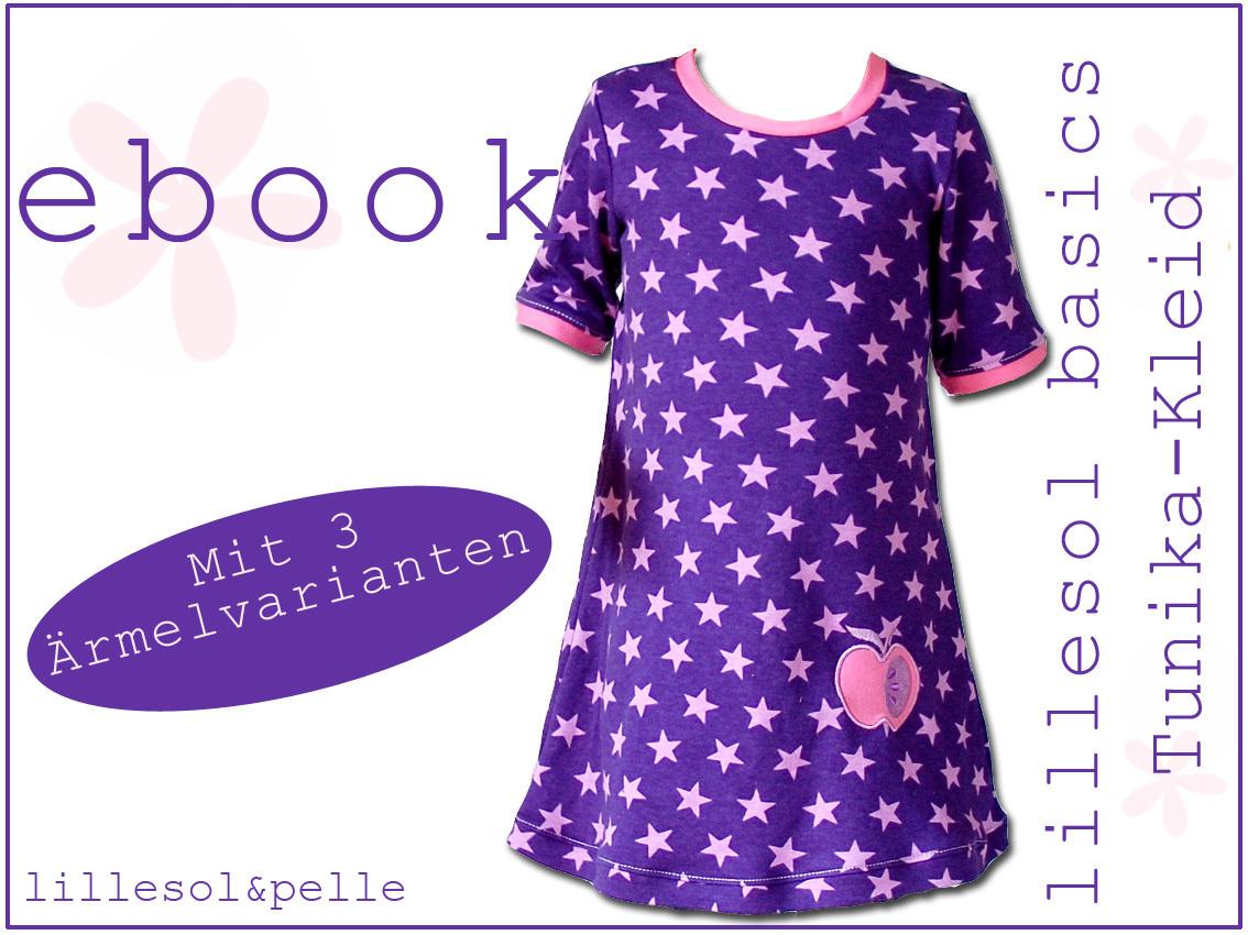 Ebook / Schnittmuster lillesol basic No.2 Tunika-Kleid - lillesol ...