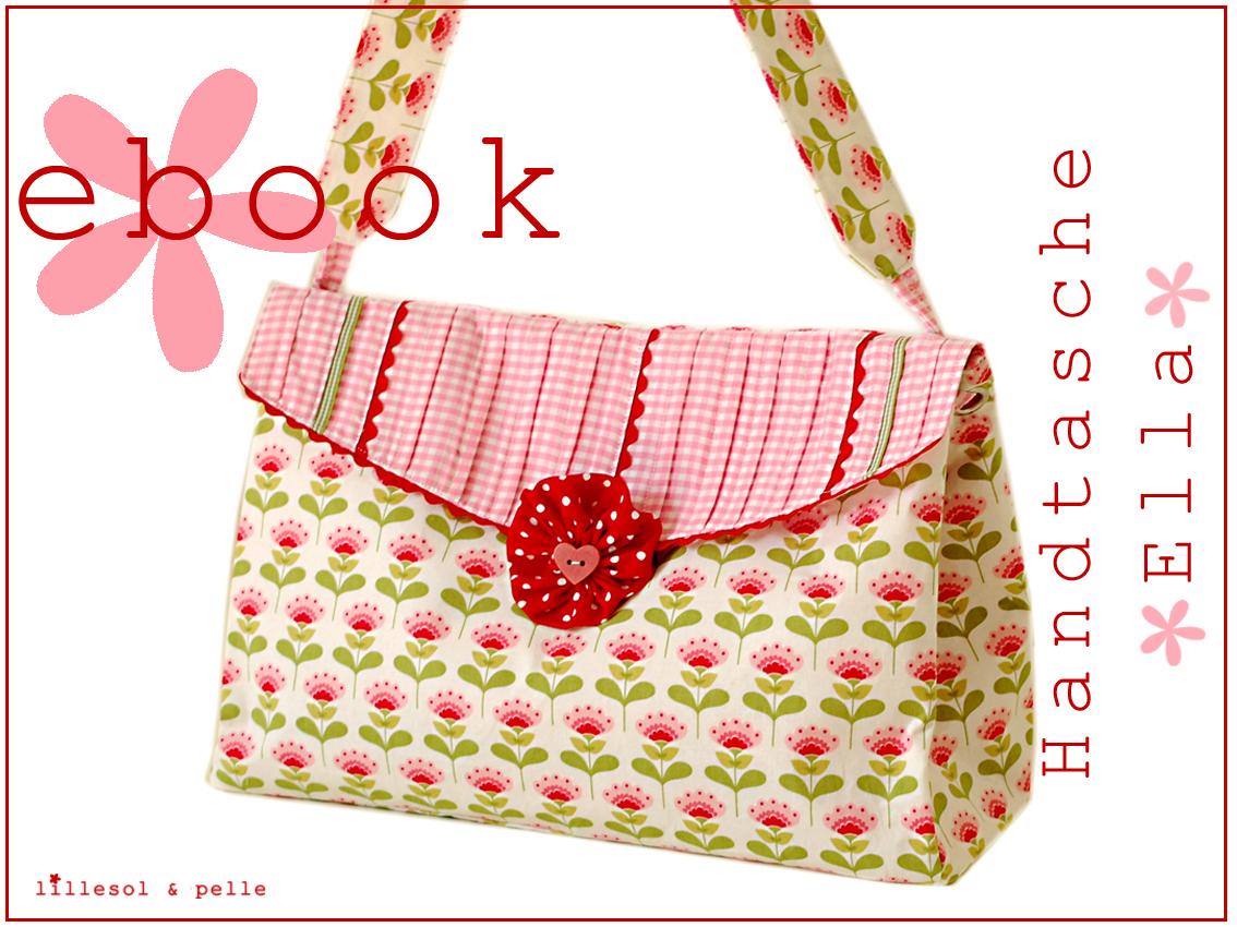 Ebook / Schnittmuster Handtasche Ella - lillesol & pelle Schnittmuster