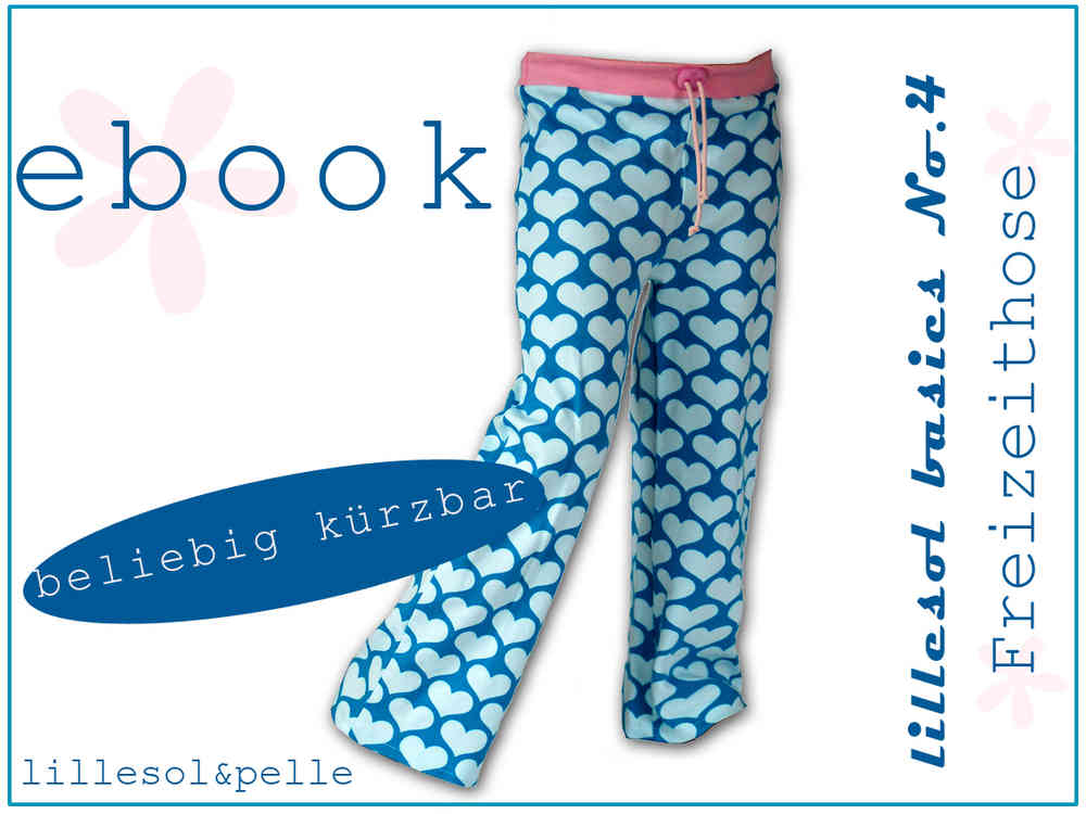 Ebook / Schnittmuster lillesol basic No.4 Freizeithose - lillesol ...
