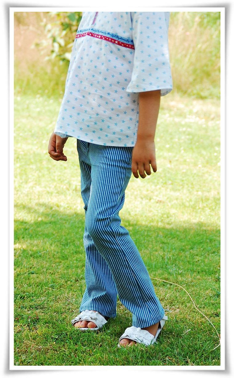 Ebook / Schnittmuster lillesol stars No.3 Bootcut-Jeans *schmal ...