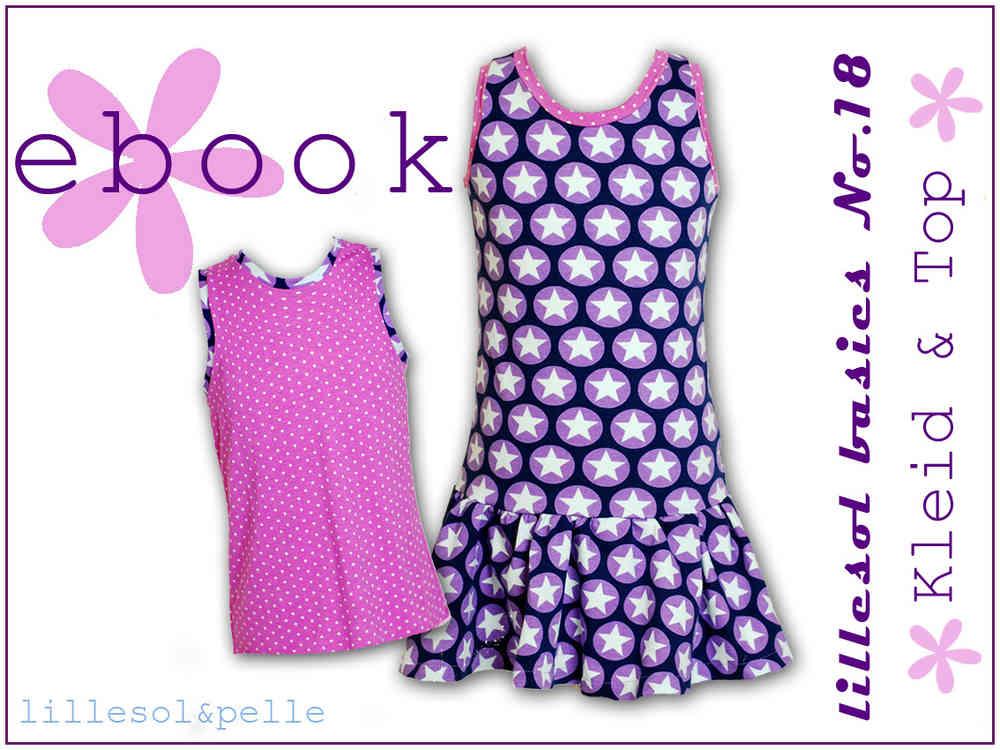 Ebook / Schnittmuster lillesol basic No.18 Sommerkombi Kleid und Top ...