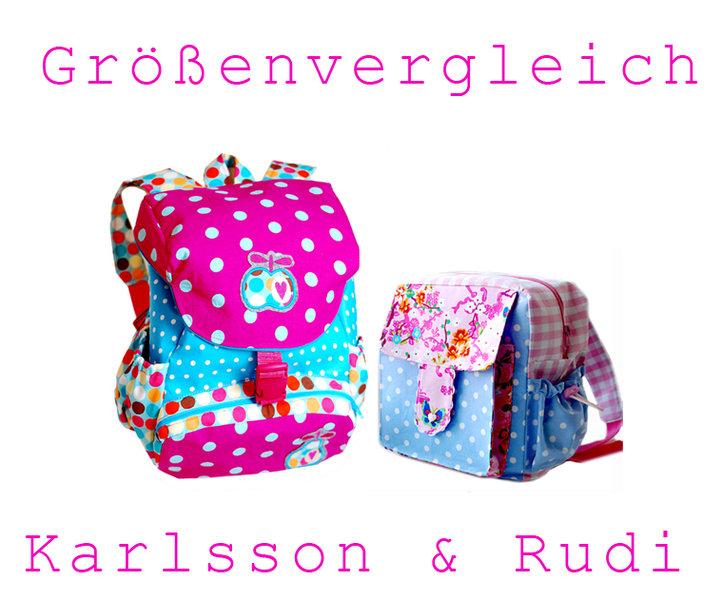 Ebook / Schnittmuster Kinderrucksack Karlsson - lillesol & pelle ...