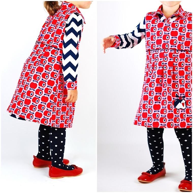 Schnittmuster und Ebook zum Nähen für ein Kleid zu Weihnachten