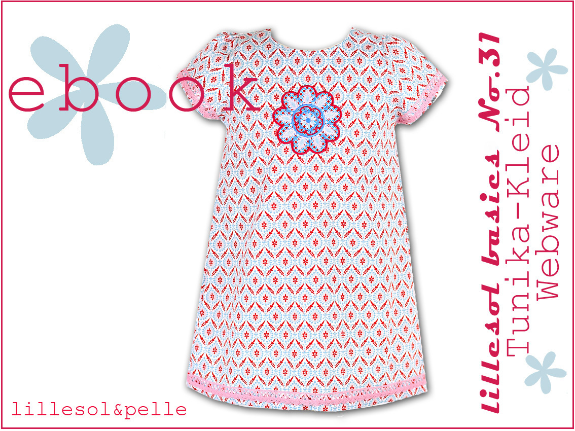 Ebook / Schnittmuster lillesol basic No.31 Tunika-Kleid Webware ...
