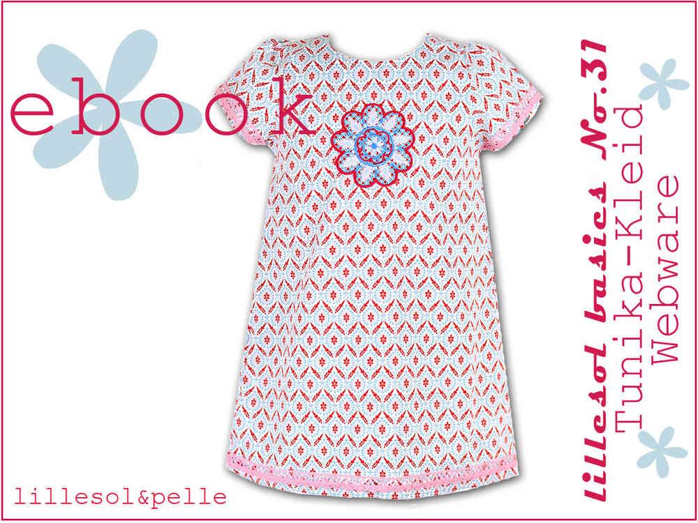 Ebook / Schnittmuster lillesol basic No.31 Tunika-Kleid Webware ...