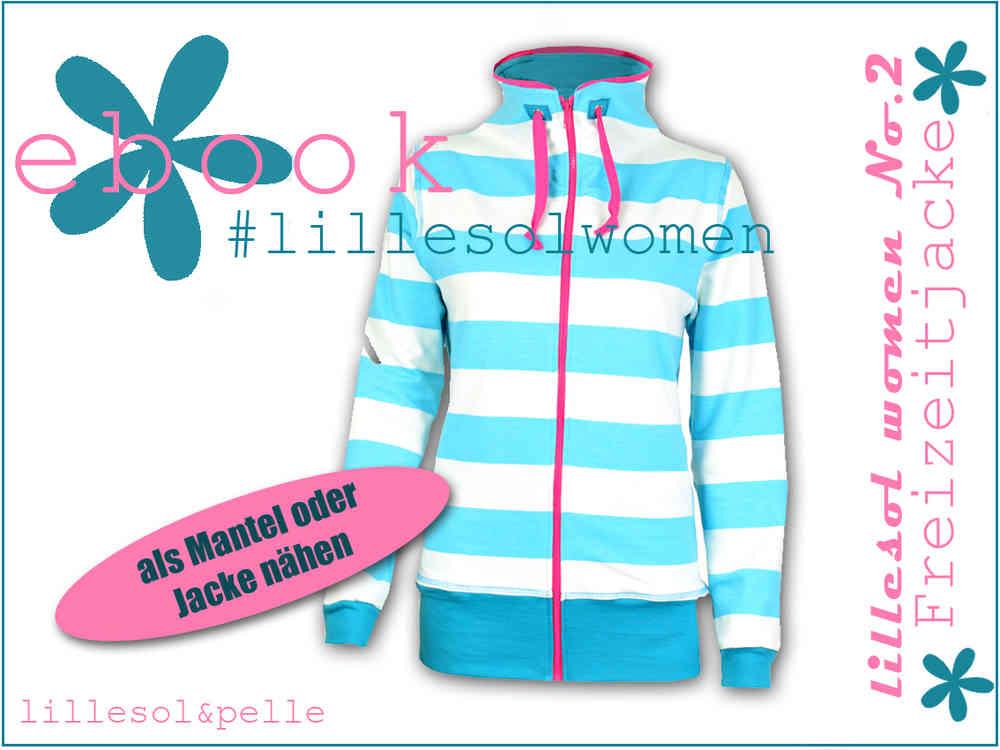 Ebook / Schnittmuster lillesol women No.2 Freizeitjacke - lillesol ...