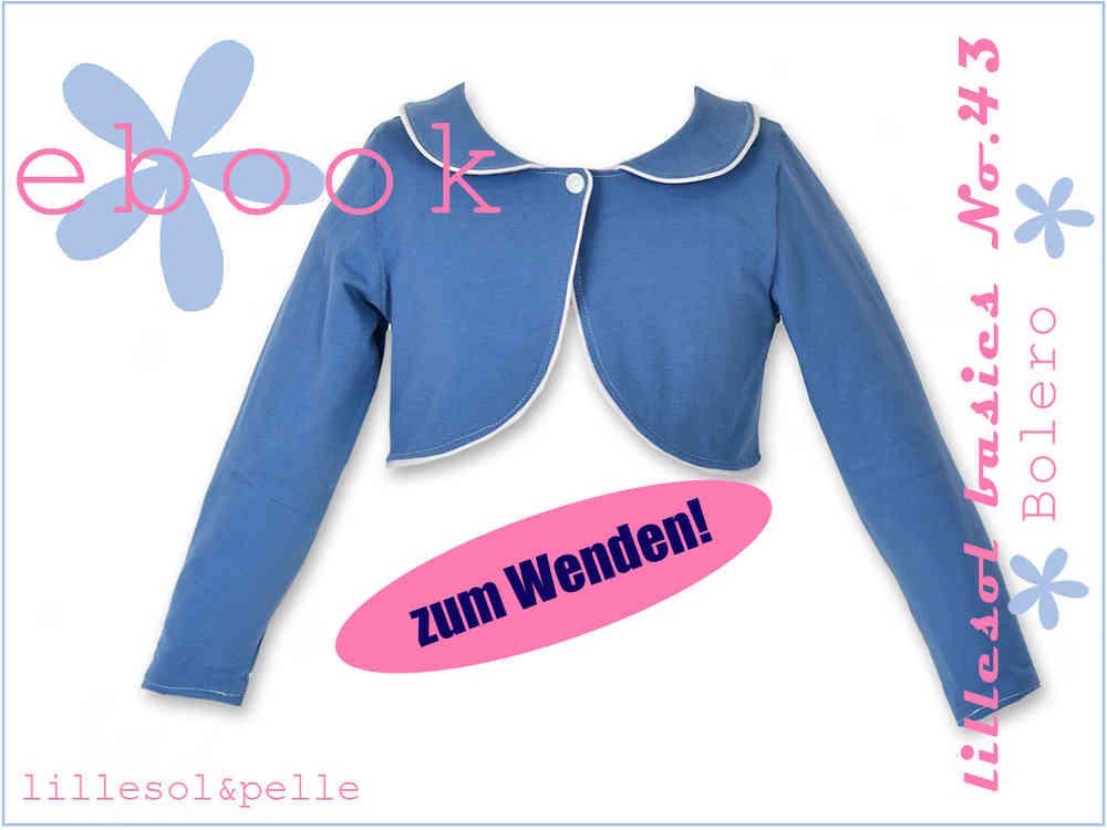 Ebook / Schnittmuster lillesol basics No.43 Bolero - lillesol ...
