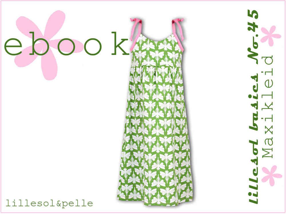 Ebook / Schnittmuster lillesol basics No.45 Maxikleid - lillesol ...