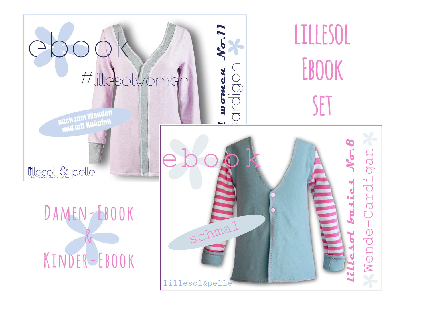 lillesol ebook set basic No.8 und women No.11 *mit Video-Anleitung*