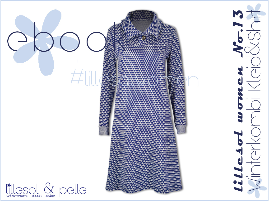 Ebook / Schnittmuster lillesol women No.13 Winterkombi Kleid & Shirt ...