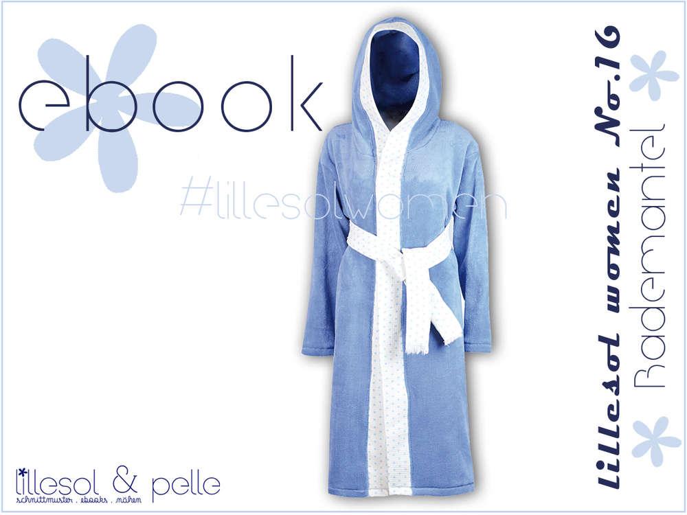Ebook/ Schnittmuster lillesol women No.16 Bademantel - lillesol ...