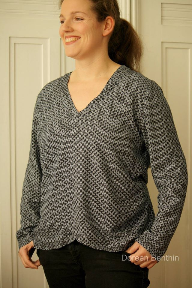 Fancy Bluse Muster Zum Nähen Picture Collection - Decke Stricken ...