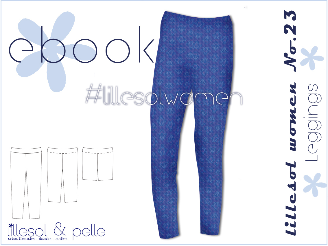 Ebook / Schnittmuster lillesol women No.23 Leggings