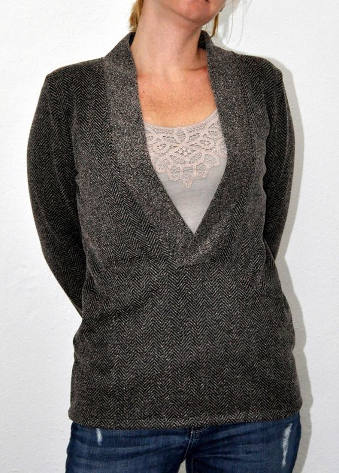 lillesol women No24 Shirt mit V-Ausschnitt