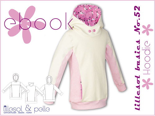 Ebook / Schnittmuster lillesol basics No.52 Hoodie