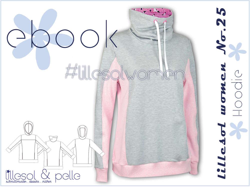 Ebook / Schnittmuster lillesol women No.25 Hoodie - lillesol & pelle ...