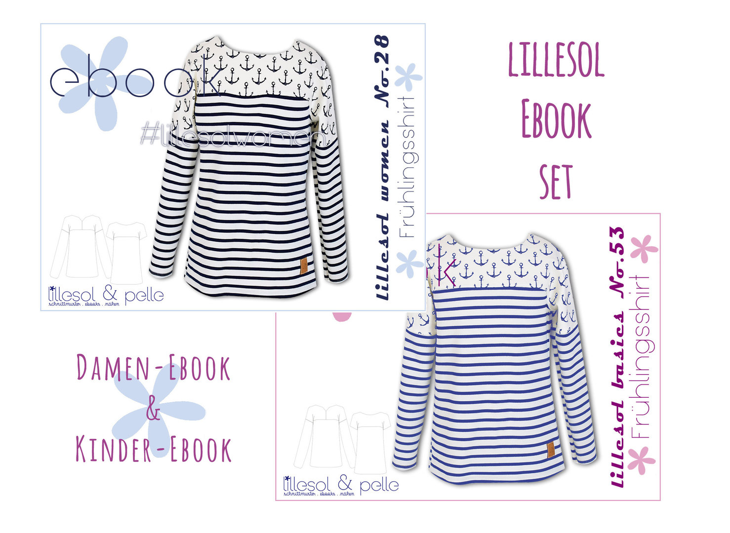 lillesol ebook set basics No.53 und women No.28