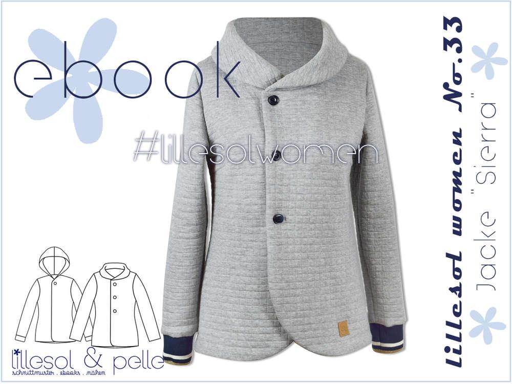 Ebook / Schnittmuster lillesol women No.33 Jacke Sierra - lillesol ...